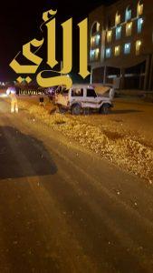 3 إصابات متفاوتة بحادث سير على الطريق الدائري ببريدة