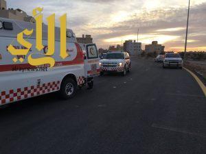 3 وفيات وأربع إصابات بحادث مروري على طريق مكة القويعية