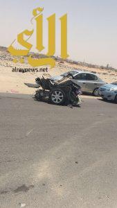 وفاة رجل وإصابة إمرأة بحادث سير بمحافظة الأحساء