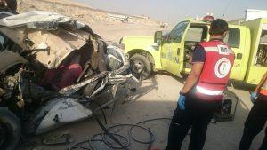 مصرع شخص وإصابة آخر بحادث سير على مخرج 18 بالرياض