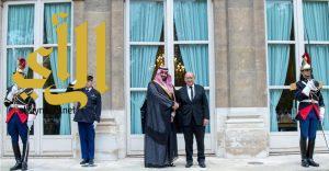 ولي ولي العهد يلتقي وزير الدفاع الفرنسي ويبحثان تعزيز العلاقات الثنائية