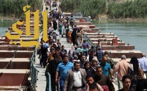 التحالف : يعرب عن قلقه من الانتهاكات التي تعرض لها المدنيون النازحون في الفلوجة