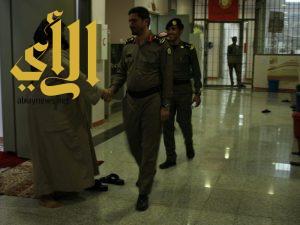 سجون الباحة يقيم إفطار جماعي مع النزلاء