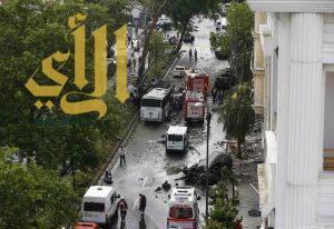 11 قتيلاً إثر انفجار سيارة مفخخة وسط إسطنبول