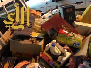 بلدية بلقرن تتلف ربع طن من المواد الغذائية الفاسدة