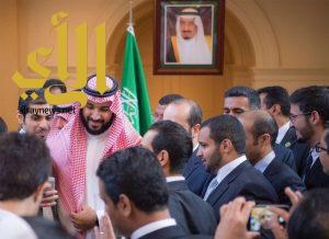 ولي ولي العهد يلتقي بمجموعة من الطلبة السعوديين المتميزين في الجامعات الأمريكية