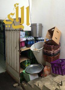 بلدية طريب تواصل الحملات الرقابية وتضبط مواداً غذائية غير صالحة