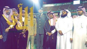 """تخرج """"زياد آل ناجع"""" من كلية الملك عبدالعزيز """"ملازماً"""""""