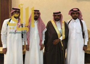 آل حلاص وآل راكان يحتفلون بتخرج ابنيهما من الكلية الامنية