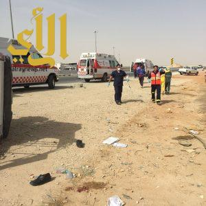 وفاة وإصابة حرجة بحادث سير على طريق الرين