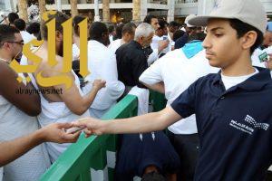 120 طالبا بتعليم مكة يشاركون في الإرث التاريخي لسقيا زمزم