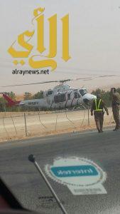 مصرع شخصين وإصابة آخرين بحادث مروري على كبري المشاعلة بطريق مكة