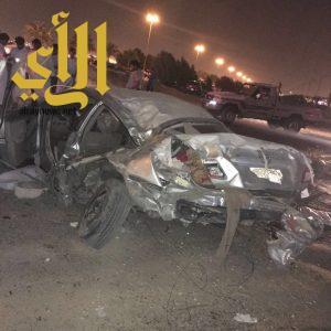 مصرع شخص وإصابة آخرين بحادث سير على طريق الملك فهد بالدمام