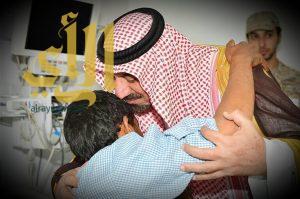أمير نجران  : إصابتكم وسام عز وشرف