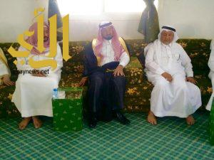 """وكيل إمارة الباحة يقدم تعازيه لأسرة """"آل ريحان"""""""