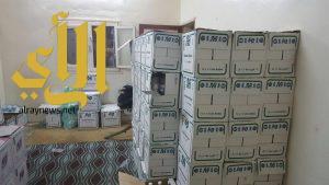 شرطة خميس مشيط تضبط مصنع للخمور