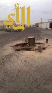 بئر تهدد حياة سگان المضة و بلدية طريب في سبات