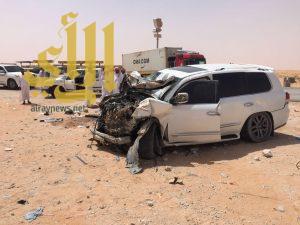 10 وفيات بحوادث مرورية باشرها الهلال الأحمر بالشرقية خلال سبعة أيام