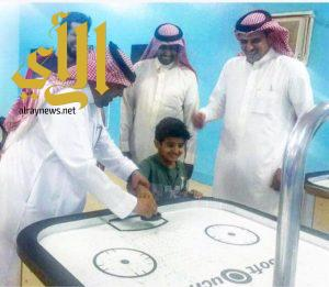 مدير التعليم بمحافظة المهد يزور نادي الحي
