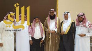 الشيخ محمد آل محيا يحتفل بزواج ابن أخيه