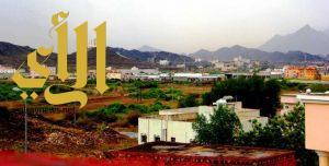 أمطار  الرحمة والبركة تهطل على محافظة بارق