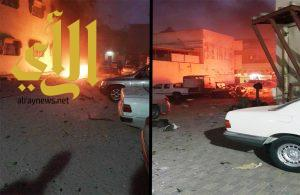 تفجير انتحاري قرب أحد المساجد بالقطيف يخلف أشلاء لثلاثة أشخاص