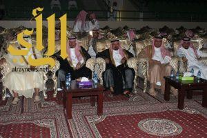 محافظ وادي الدواسر يشهد احتفال أهالي المحافظة بالعيد
