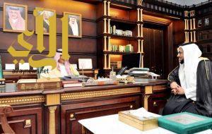 أمير منطقة الباحة يتسلّم التقرير السنوي لفرع المؤسسة العامة للتقاعد