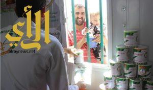 453 رضيعًا استفادوا من مشروع الحملة الوطنية السعودية « نمو بصحة وأمان » بمخيم الزعتري