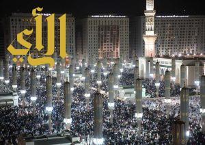 مليون مصل يشهدون ختم القرآن الكريم في المسجد النبوي