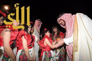 أمير منطقة القصيم يشهد حفل الأهالي بعيد الفطر المبارك