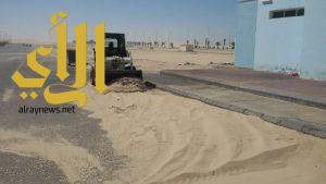 بلدية الظهران تستقبل عيد الفطر المبارك بالانتهاء من تجهيزات شاطئ نصف القمر