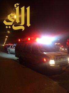 مصرع شخصين وإصابة آخرين بحادث عائلة على طريق السليل الرياض