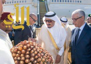 خادم الحرمين يصل إلى المملكة المغربية في إجازة خاصة