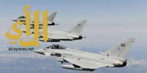 """""""التحالف"""" يستهدف مواقع للحوثيين"""