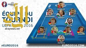 جريزمان أفضل لاعب في اليورو ورونالدو في التشكيلة المثالية