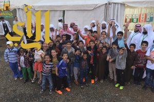 خيمة ابها السياحية الدعوية الثامنة تمتزج بالضباب في يومها السابع