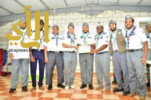 اختتام المعسكر الكشفي الرمضاني لخدمة المعتمرين بمكة المكرمة