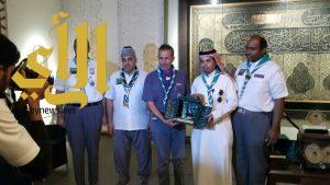 جمعية الكشافة تَكرم شركاء النجاح في خدمة الزوار بالمسجد النبوي الشريف