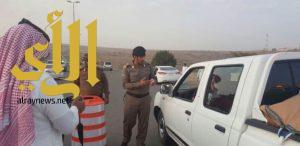 جوله تفقديه لمدير شرطة محافظة أحد رفيدة المقدم عبدالعزيز بن حاسن