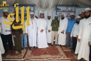اسلام خادمة فلبينيه مع انطلاقة فعاليات اليوم السادس بخيمة ابها السياحية الدعوية الثامنة