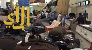 الخطوط السعودية: تعطل سيور «مطار الرياض» سبب تكدّس العفش