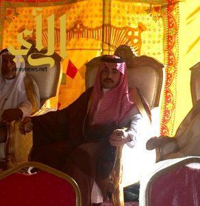 ابن دليم يشارك قرى العنثري بوادي راحة سنحان أفراح العيد