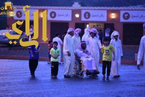 خيمة ابها الدعوية السياحية تستمر بفعالياتها في يومها الخامس تحت زخات المطر