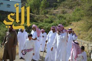 اهالي قرية دبلاء بمركز حسوة يحتفلون بالعيد