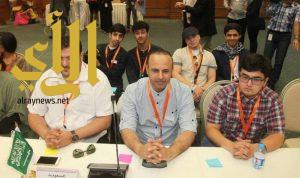 طلابنا يعرضون الرؤية السعودية 2030 في المؤتمر الدولي الــ 35 للشباب العربي بالأردن
