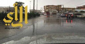 أمطار الرحمة والبركة تهطل على قطاعي السراة وتهامة بالباحة