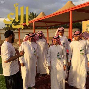 تعليم الباحة يستضيف وفد سفراء الأمل من أبناء جنودنا البواسل