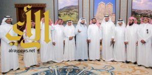 وكيل إمارة منطقة الباحة يستقبل رئيس وأعضاء مجلس إدارة الغرفة التجارية بالمنطقة