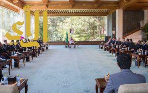 سمو ولي ولي العهد يلتقي الطلبة السعوديين في الجامعات الصينية